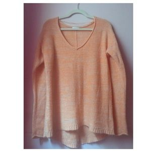 Long Sleeve Maternity Orange Sweater 🧡